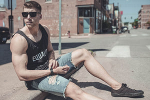 Summer EQUALITY Tank Top (Tri-Black)