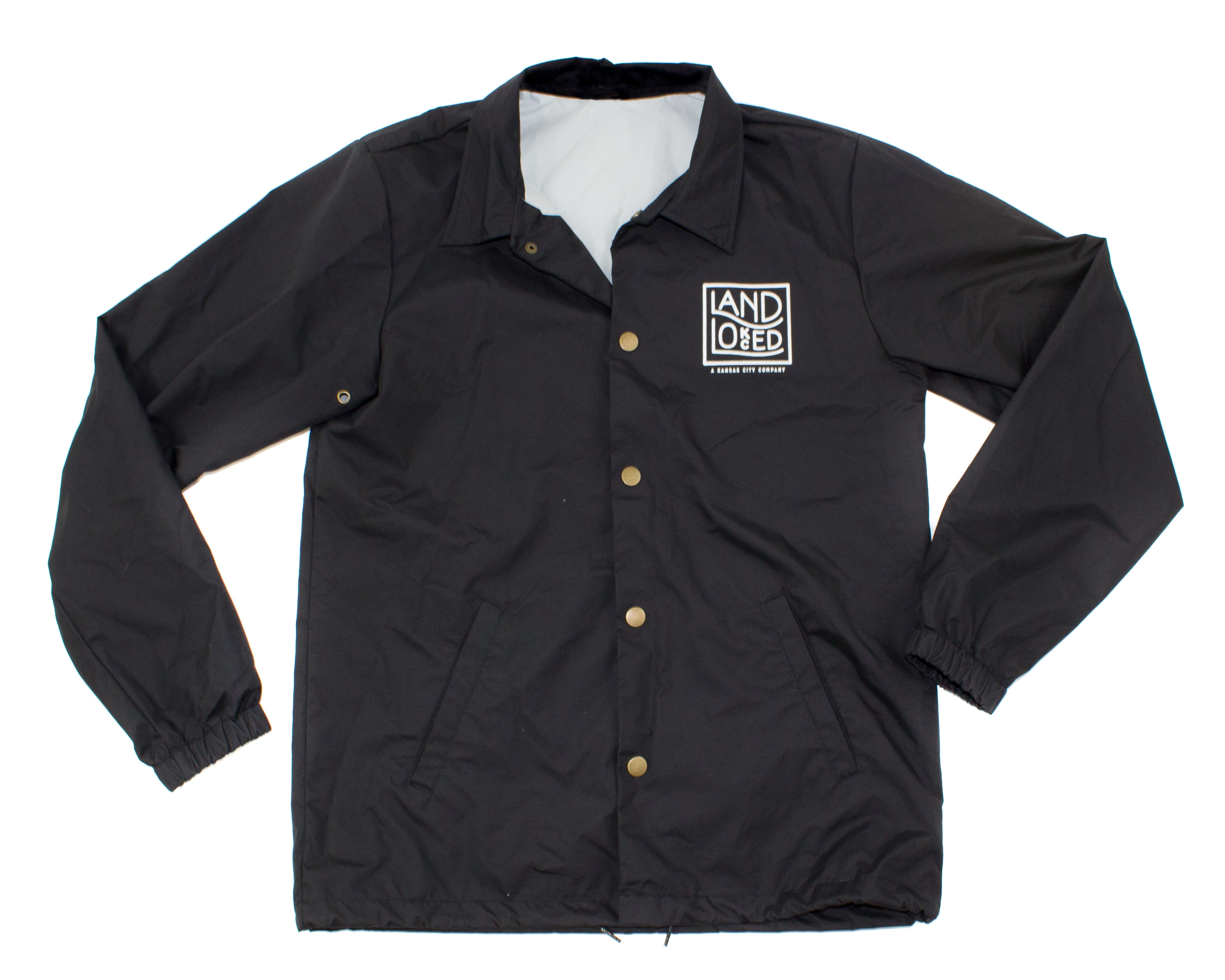 LandLocked Coaches Logo Jacket