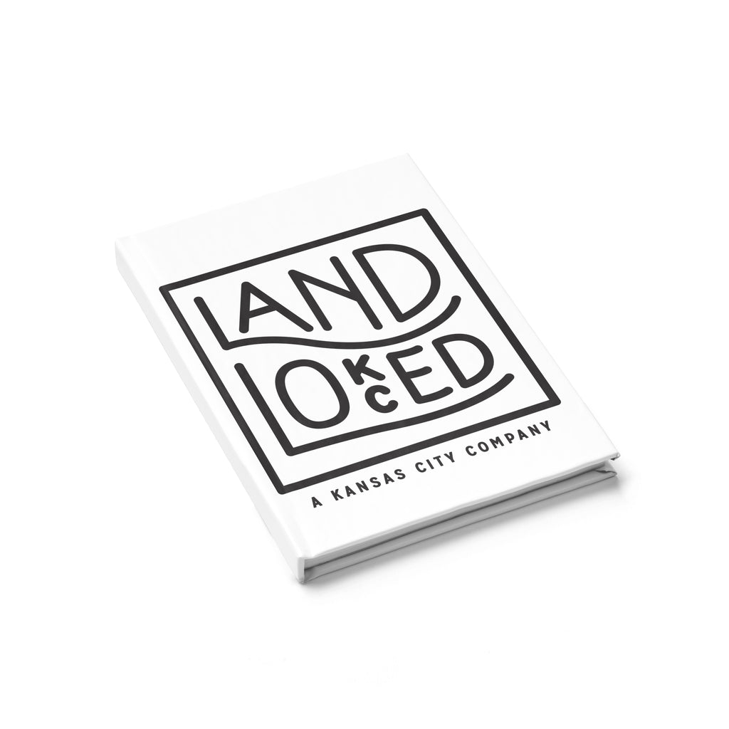 Landlocked Logo Journal - Ruled Line