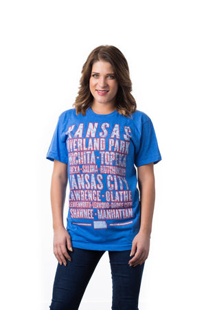 Kansas Cities T-Shirt