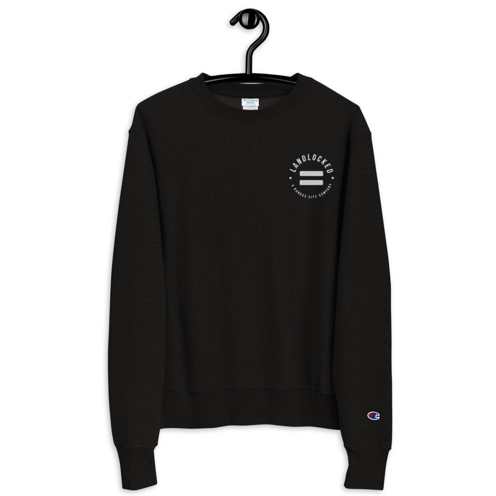 Equality Landlocked Logo Champion Sweatshirt