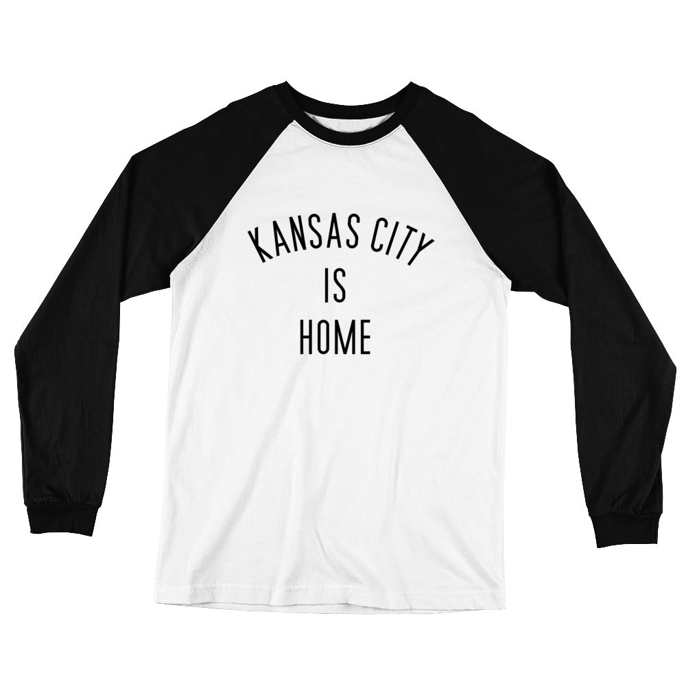 Kansas City is Home Long Sleeve Baseball T-Shirt