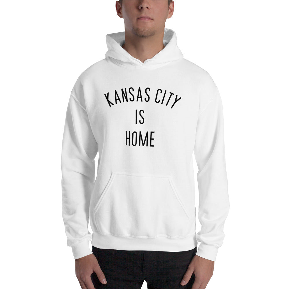 Kansas City is Home Hooded Sweatshirt w/Pocket
