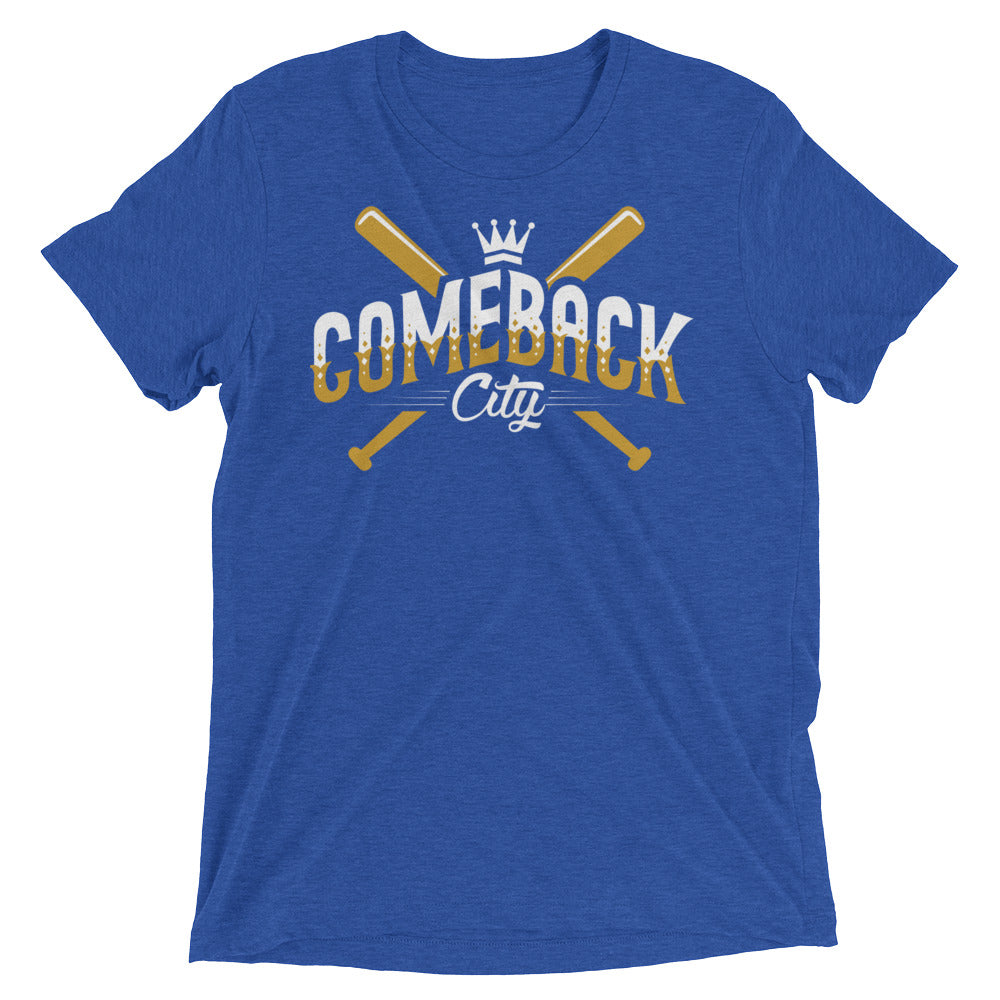 Comeback City T-Shirt - Unisex Short Sleeve