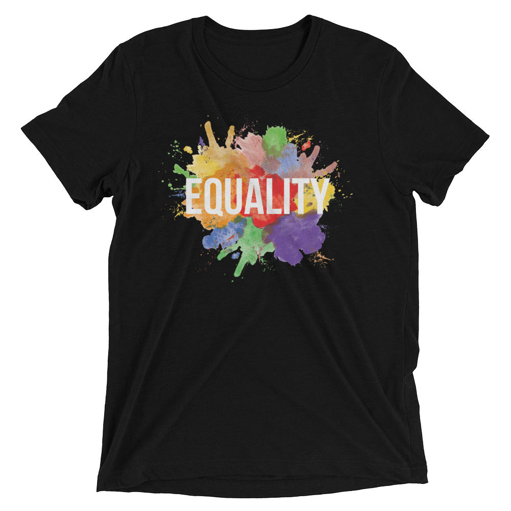 Short Sleeve Splatter Equality T-shirt
