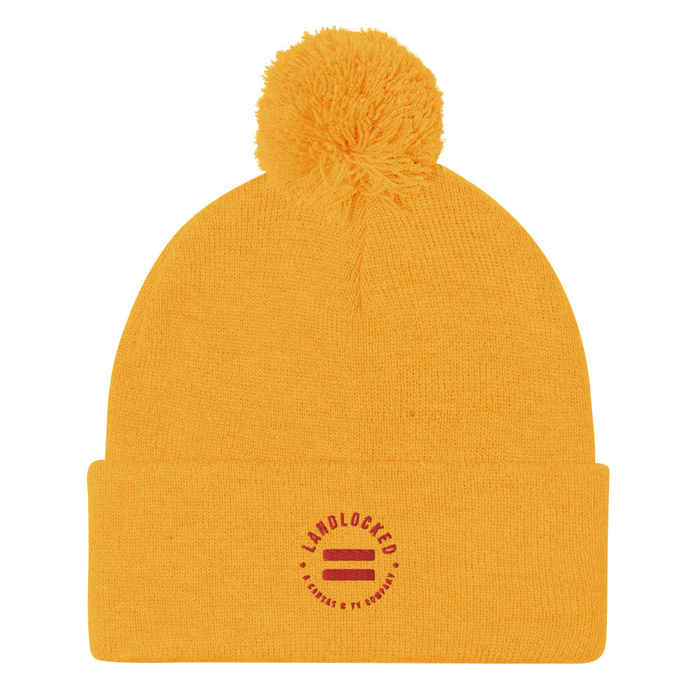 Kansas City Football Szn Pom-Pom Beanie