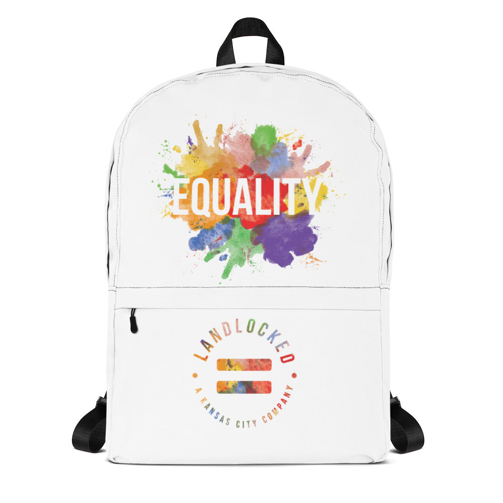 Equality Collection - Splatter - Equality Backpack - Landlocked - A Kansas City Company
