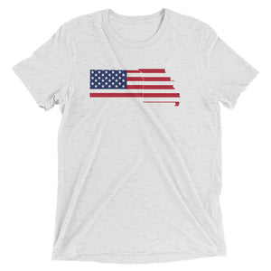 MO/KS Flag - Short Sleeve Unisex t-shirt