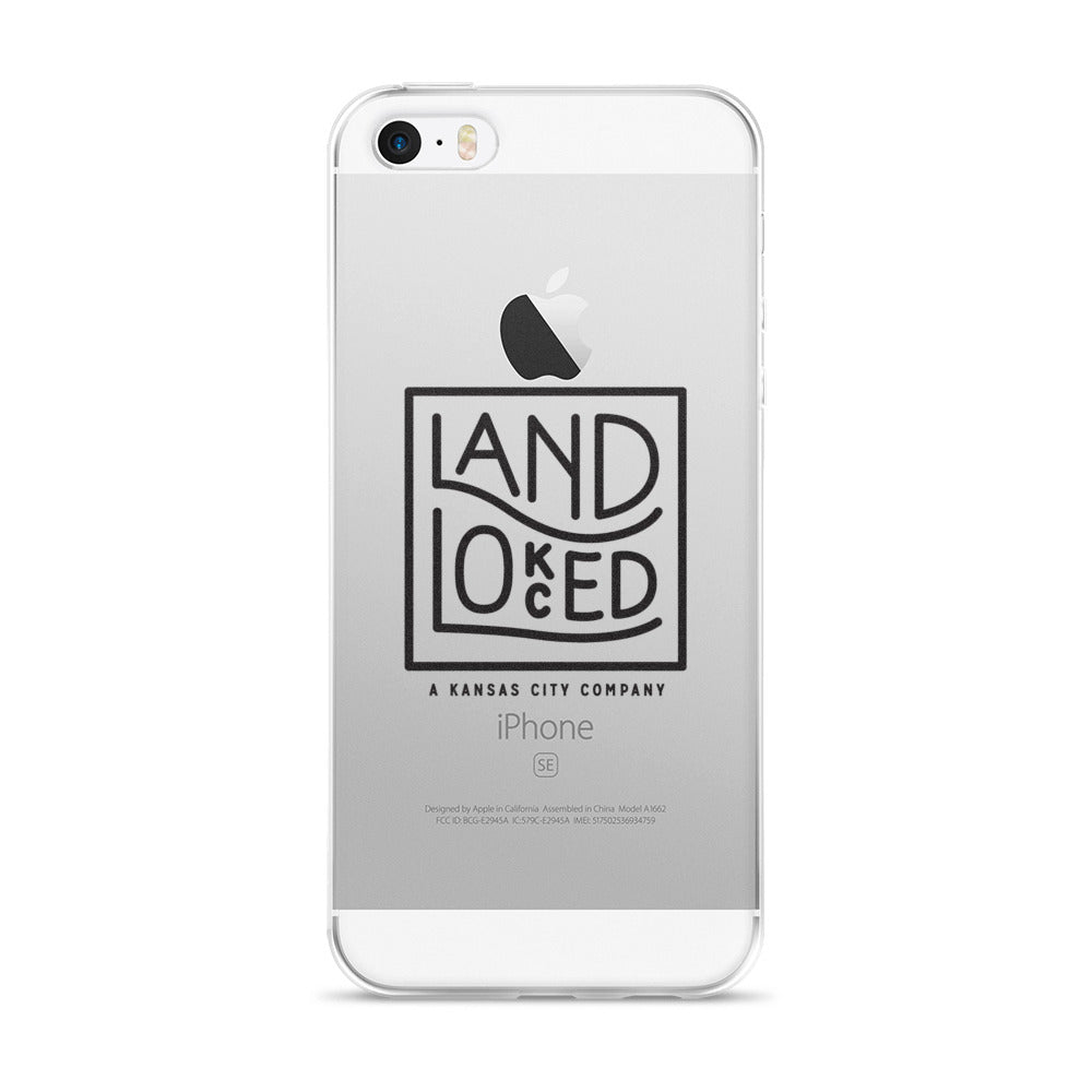 Landlocked Logo iPhone Case: Fits 5/5s/Se, 6/6s, 6/6s Plus Case