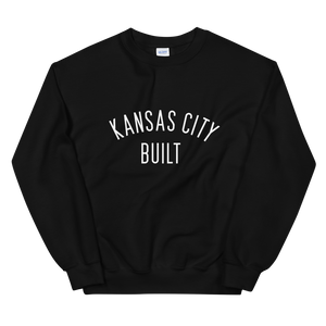 Kansas City Built Unisex Crewneck Sweatshirt