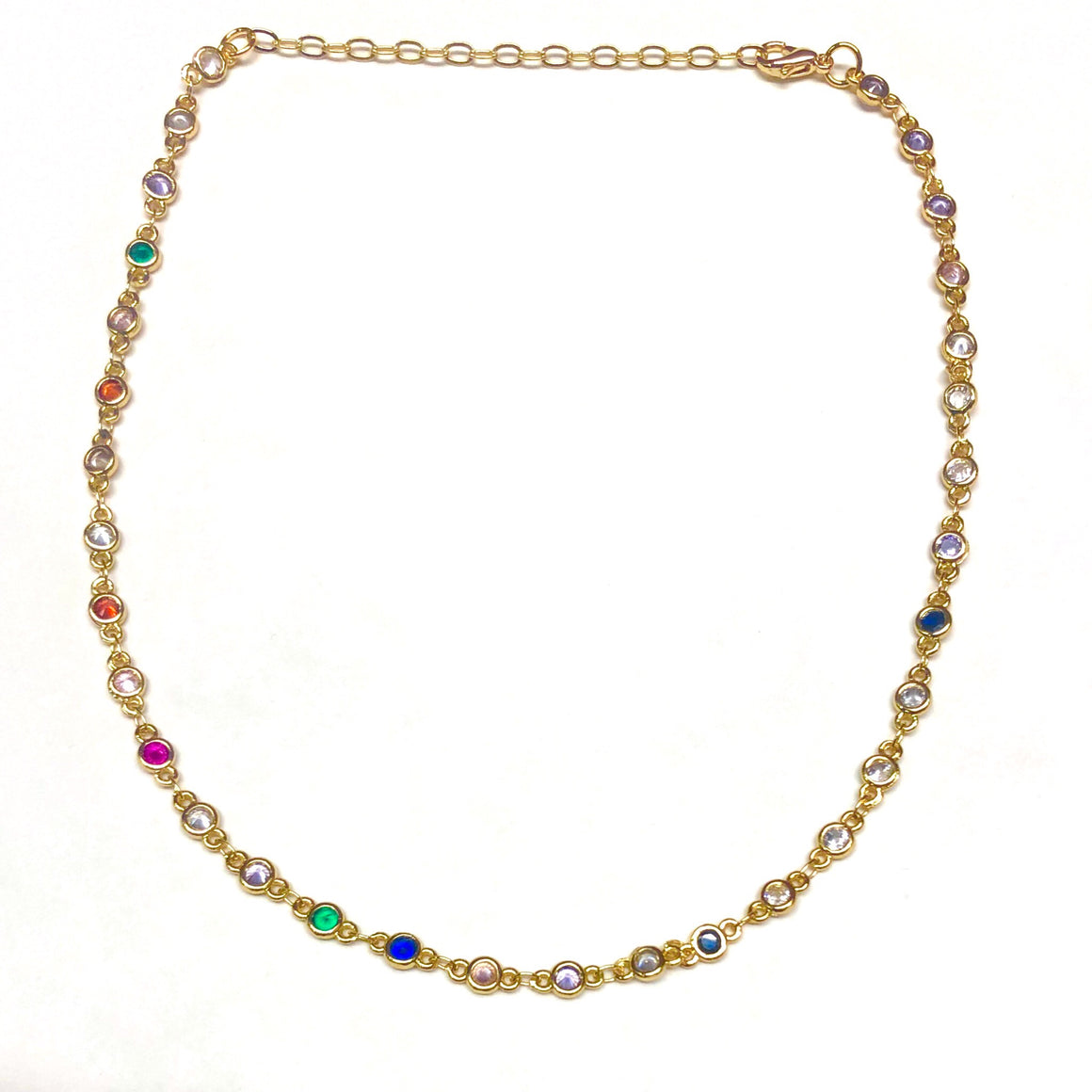Annie Rainbow Choker - Nikki Smith Designs