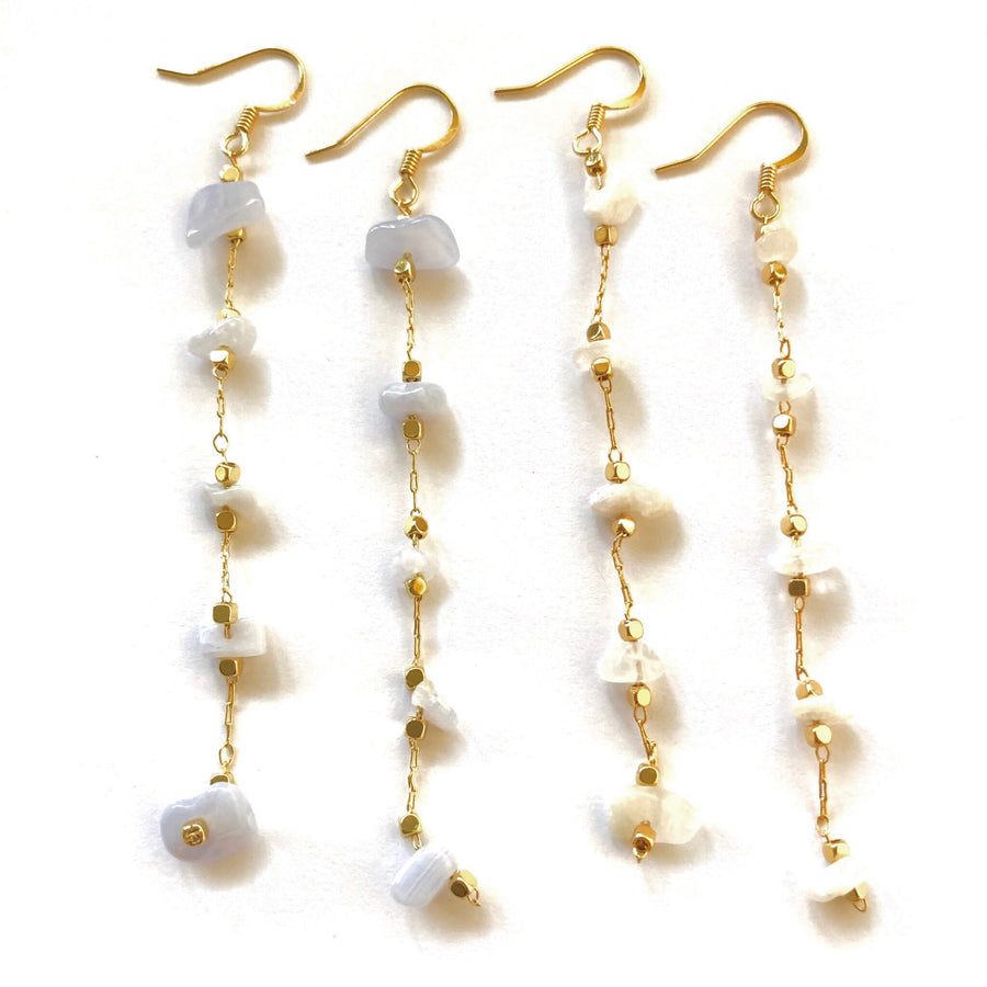 Lily Stone Earrings - Nikki Smith Designs