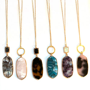 Emma Gem Necklaces - Nikki Smith Designs