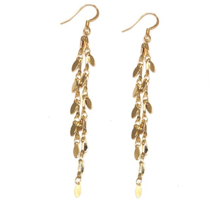 Golden Drip Earrings - Nikki Smith Designs