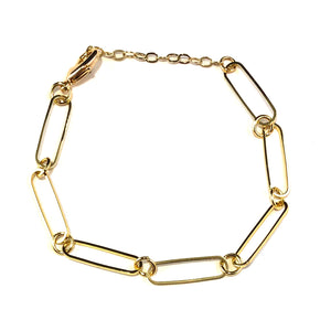 Ellie Gold Chain Bracelet