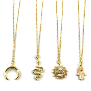 Parker Gold Short Necklaces