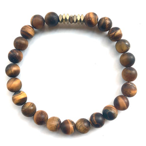Scotty Men's Beaded Stone Bracelet - Nikki Smith Designs