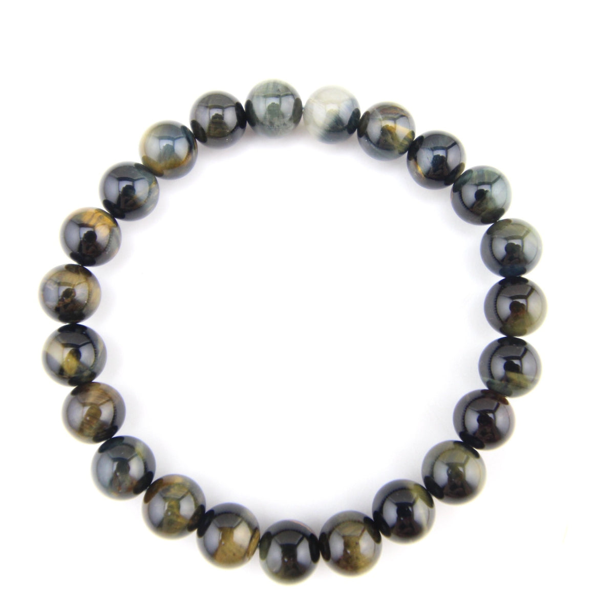Cascade Men's Beaded Stone Bracelet