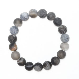 Alps Men's Beaded Stone Bracelet - Nikki Smith Designs