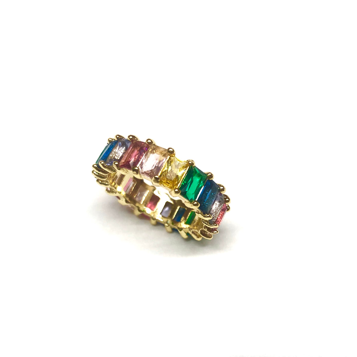 rainbow gem ring