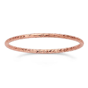 Stackable Stardust Rose Gold Ring