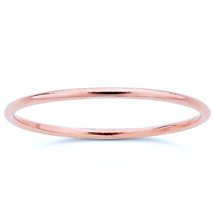Stackable Rose Gold Ring - Nikki Smith Designs