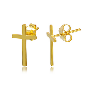 Cross Studs - Nikki Smith Designs