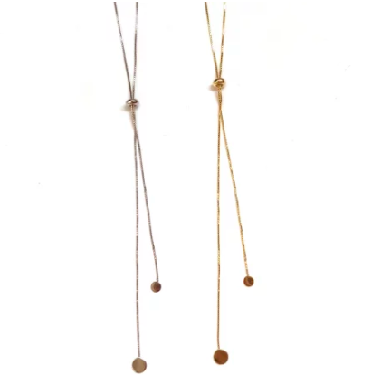 Louise Slider Lariat Necklace - Nikki Smith Designs