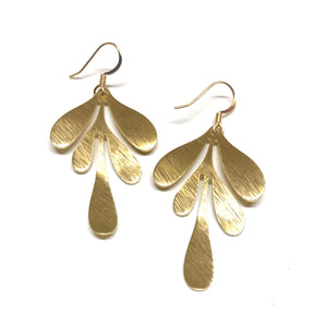 Tinsley Gold Earrings - Nikki Smith Designs