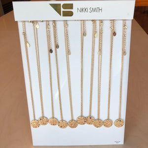 What's Your Sign Midlength Necklaces - Nikki Smith Designs
