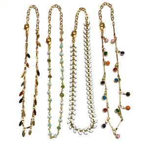 Summer Anklets - Nikki Smith Designs