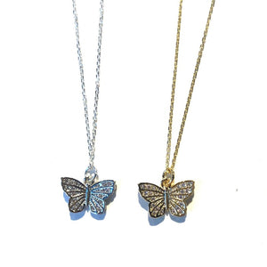 Butterfly Charm Necklaces - Nikki Smith Designs