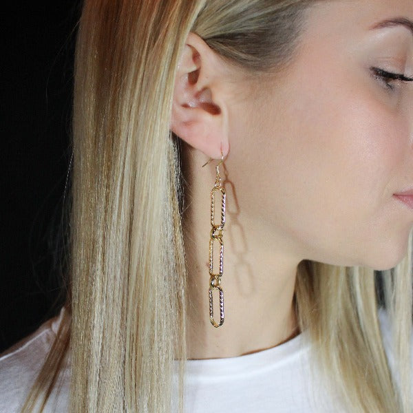 Cher Link Earrings