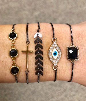 Courtney Slider Bracelets