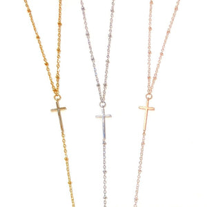 Cross Lariats - Nikki Smith Designs