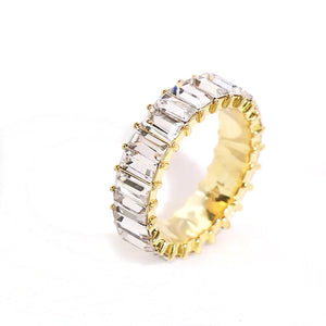 Crystal Shimmer Ring - Nikki Smith Designs