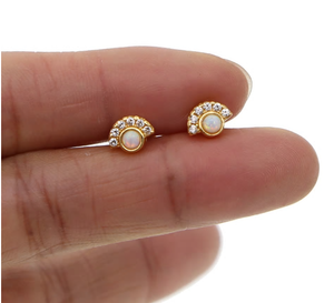 Delilah Studs - Nikki Smith Designs