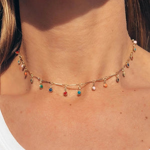 Fiesta Charm Choker - Nikki Smith Designs
