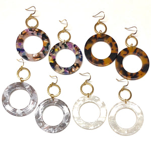 Claire Double Circle Earrings - Nikki Smith Designs