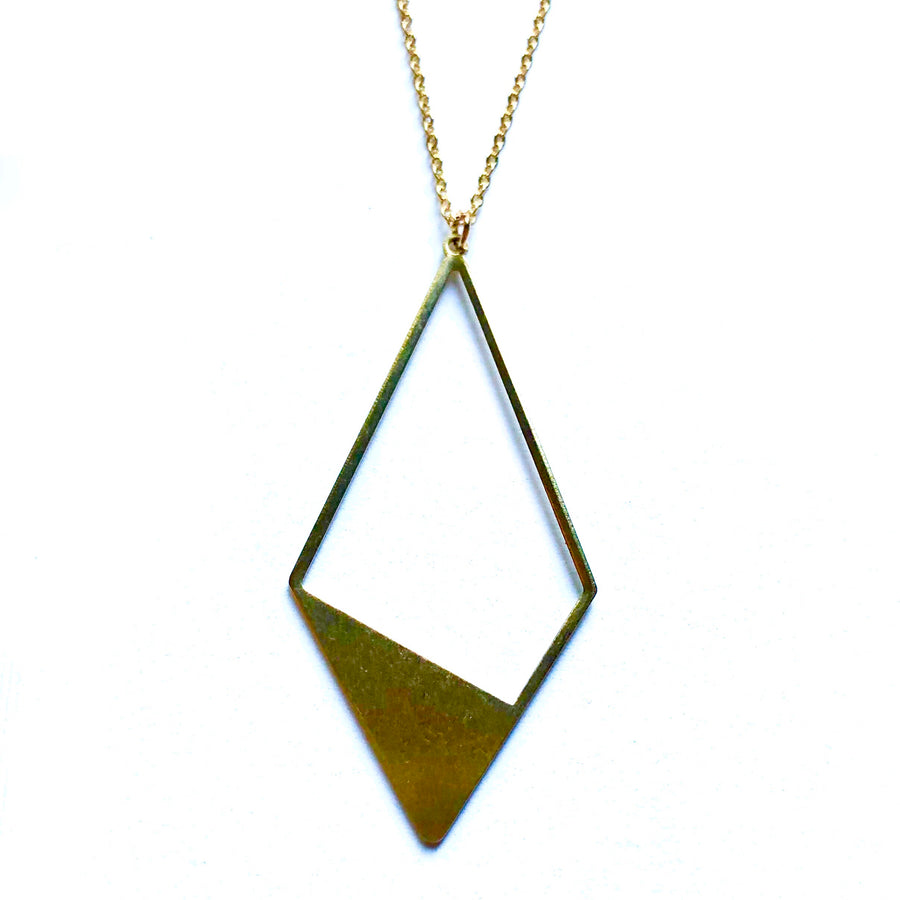 Golden Kite Long Necklace