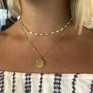 Golden Child Star Choker - Nikki Smith Designs