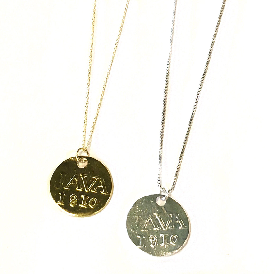 Mid Length Netherlands Coin Necklace - Nikki Smith Designs