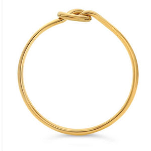 14k Gold Filled Knot Ring - Nikki Smith Designs