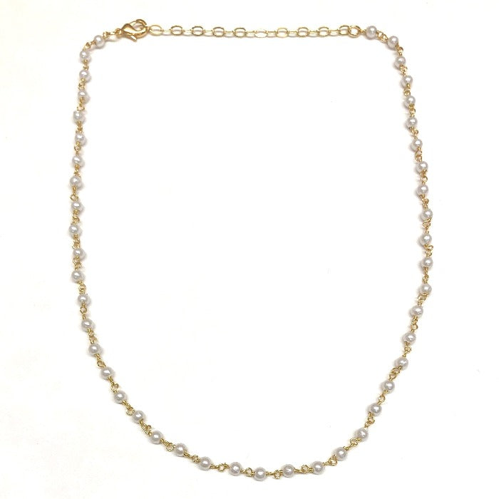 small freshwater pearl choker necklace