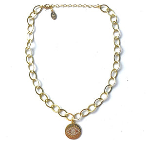 Naomi Gold Choker - Nikki Smith Designs
