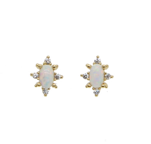 Starstruck Opal Studs - Nikki Smith Designs
