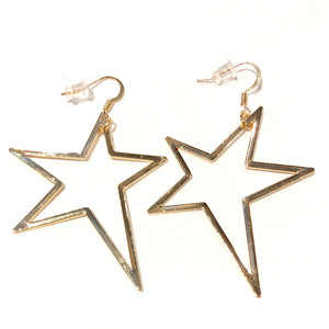 Rockstar Gold Earrings - Nikki Smith Designs