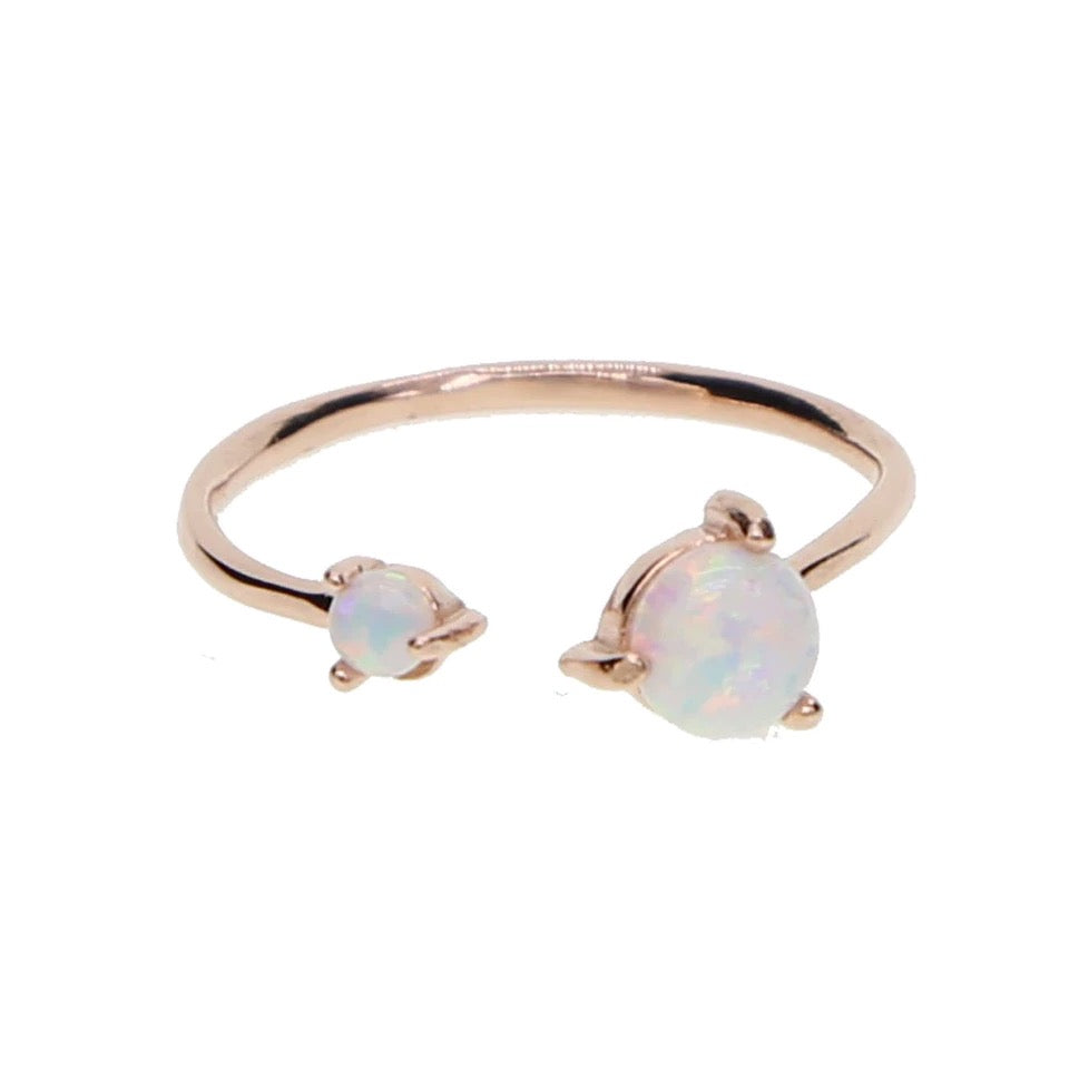 Twisted Opal Ring - Nikki Smith Designs