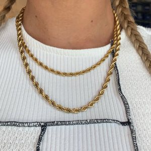 Golden Rope Necklaces