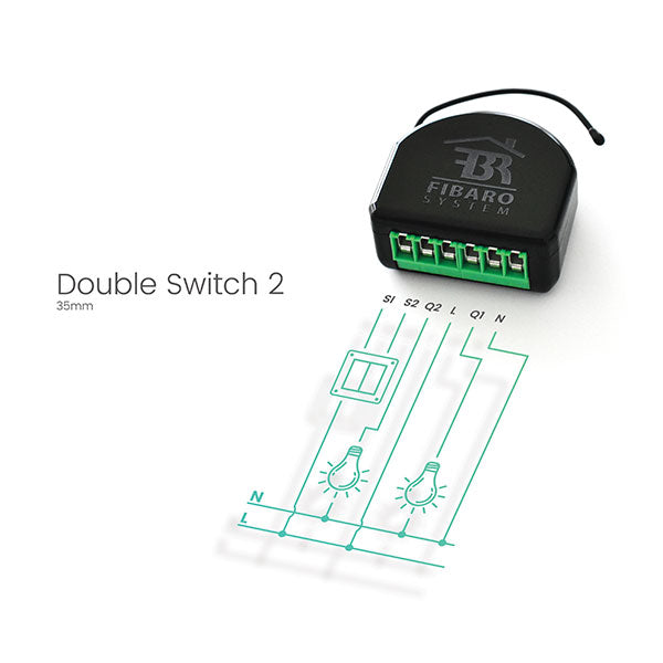 Huge SAVINGS on 50 * Fibaro Double Switch 2 Bulk Pack